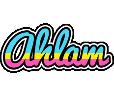 Ahlam circus logo