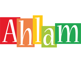 Ahlam colors logo