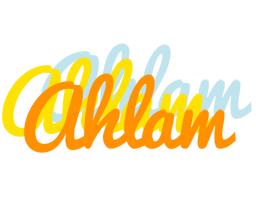 Ahlam energy logo
