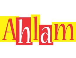 Ahlam errors logo