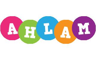 Ahlam friends logo