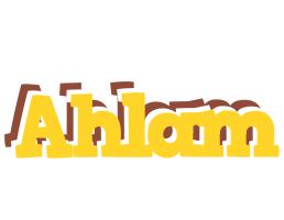 Ahlam hotcup logo