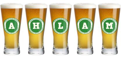 Ahlam lager logo
