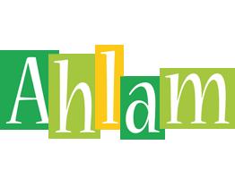 Ahlam lemonade logo