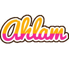 Ahlam smoothie logo
