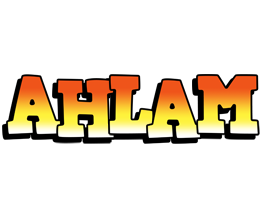 Ahlam sunset logo