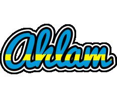 Ahlam sweden logo