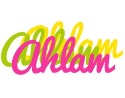 Ahlam sweets logo