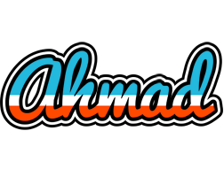 Ahmad america logo