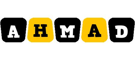 Ahmad boots logo