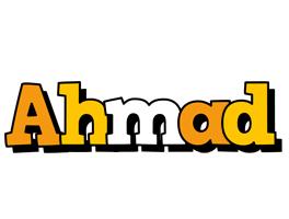 Ahmad cartoon logo