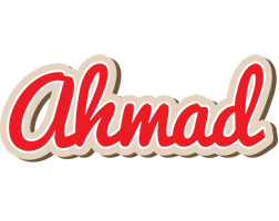 Ahmad chocolate logo