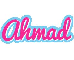 Ahmad popstar logo
