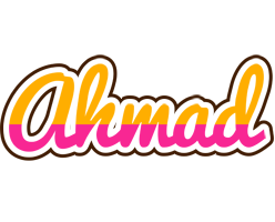 Ahmad smoothie logo