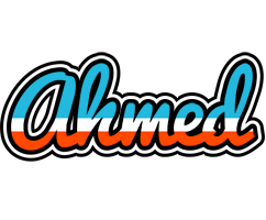 Ahmed america logo