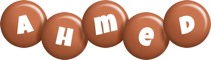 Ahmed candy-brown logo