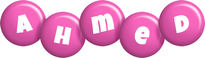 Ahmed candy-pink logo