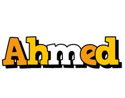 Ahmed cartoon logo