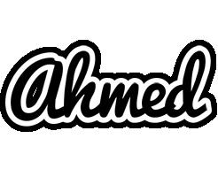 Ahmed chess logo