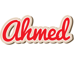 Ahmed chocolate logo