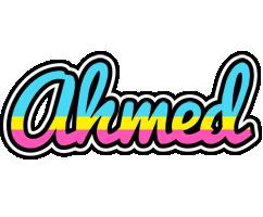 Ahmed circus logo