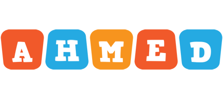 Ahmed comics logo