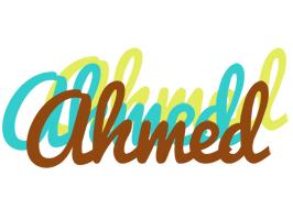 Ahmed cupcake logo