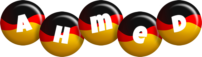 Ahmed german logo