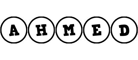 Ahmed handy logo
