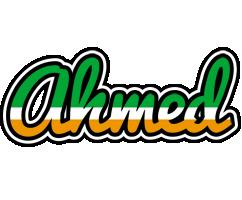 Ahmed ireland logo