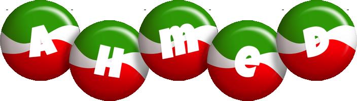 Ahmed italy logo