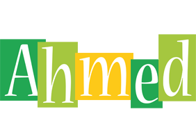 Ahmed lemonade logo
