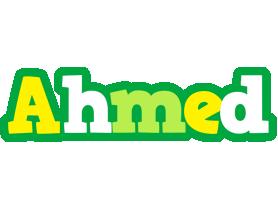 Ahmed soccer logo