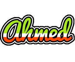 Ahmed superfun logo