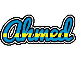 Ahmed sweden logo