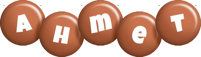Ahmet candy-brown logo