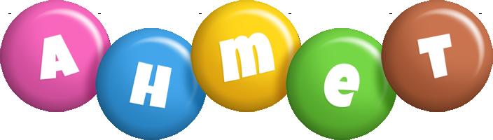 Ahmet candy logo