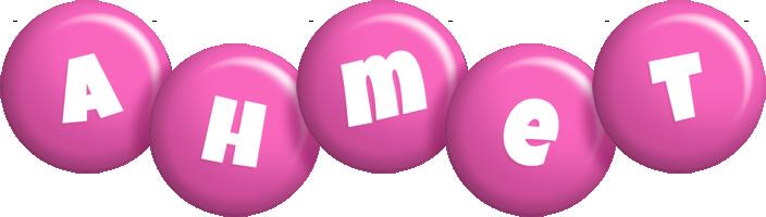 Ahmet candy-pink logo