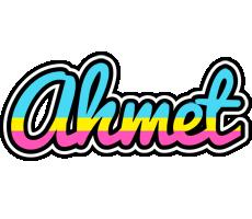 Ahmet circus logo