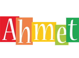 Ahmet colors logo