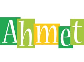Ahmet lemonade logo