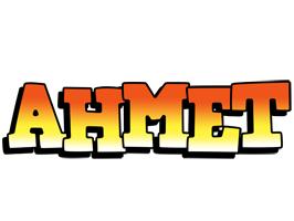 Ahmet sunset logo