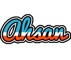Ahsan america logo