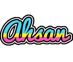 Ahsan circus logo