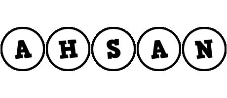 Ahsan handy logo