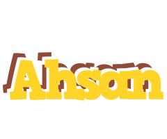 Ahsan hotcup logo