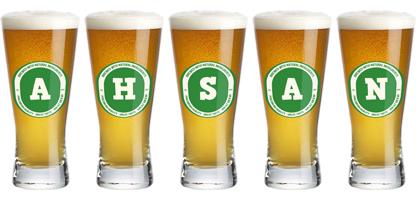 Ahsan lager logo