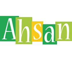 Ahsan lemonade logo