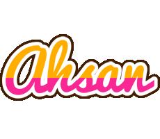 Ahsan smoothie logo