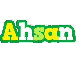Ahsan soccer logo